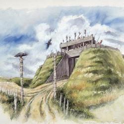 Iron Age Gatehouse