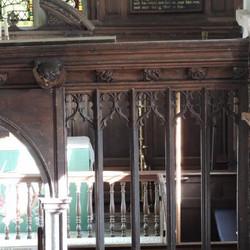 Chancel screen