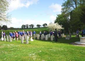 Australian War Graves in the churchyard