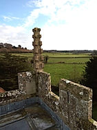3. Decorative pillar