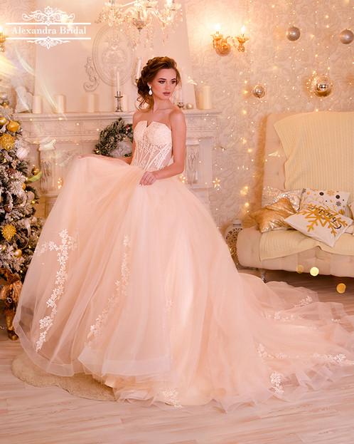 Corset Ball Gown Wedding Dress