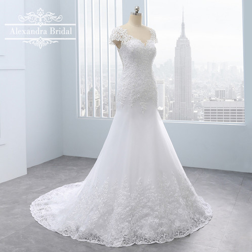 Lace backless wedding dress inexpensive wedding dresses united lace backless wedding dress junglespirit Gallery