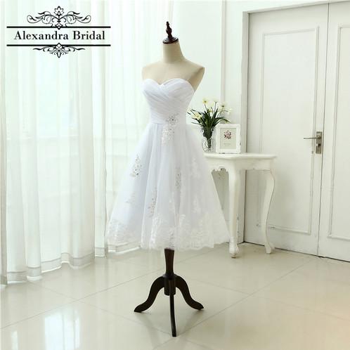 Short Tulle Wedding Dress | Inexpensive Wedding Dresses | United ...