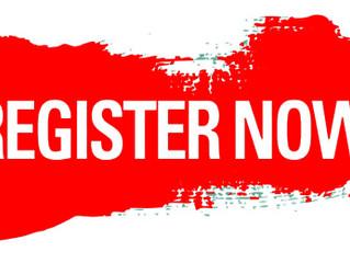 Регистрация/Registration!