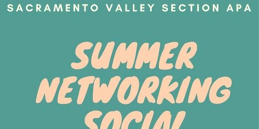 Summer Networking Social