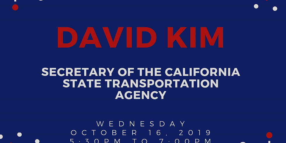 David Kim Reception