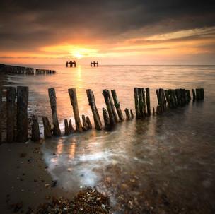 Lepe Beach Sunrise Hampshire