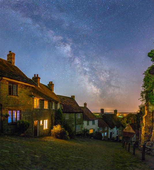 Gold Hill Milky Way Panorama