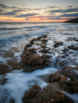 Dunraven Bay Sunset