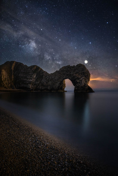 Durdle Door Under Starlight