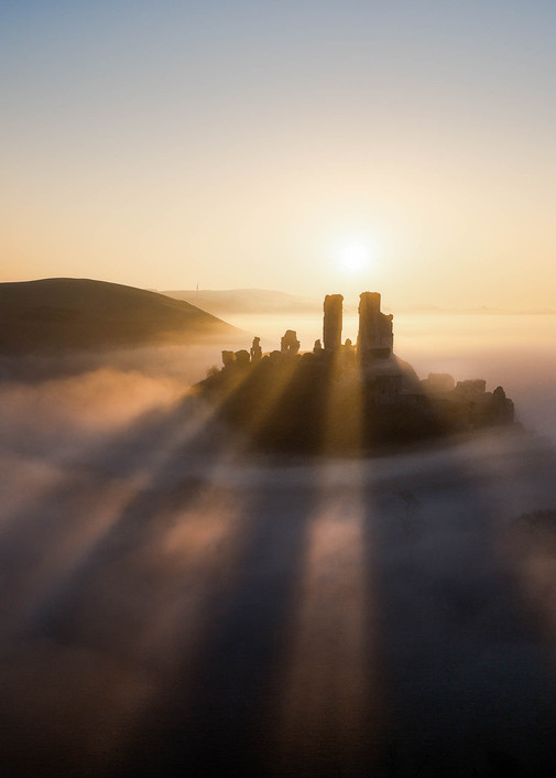 Light Rays Of Corfe