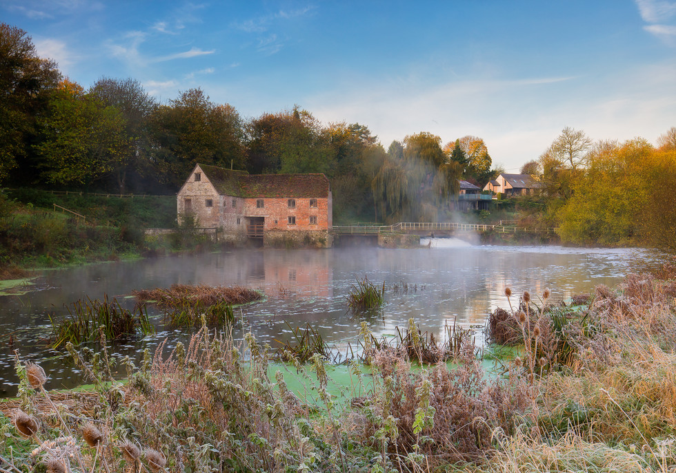 Autumn Frost At The Mill