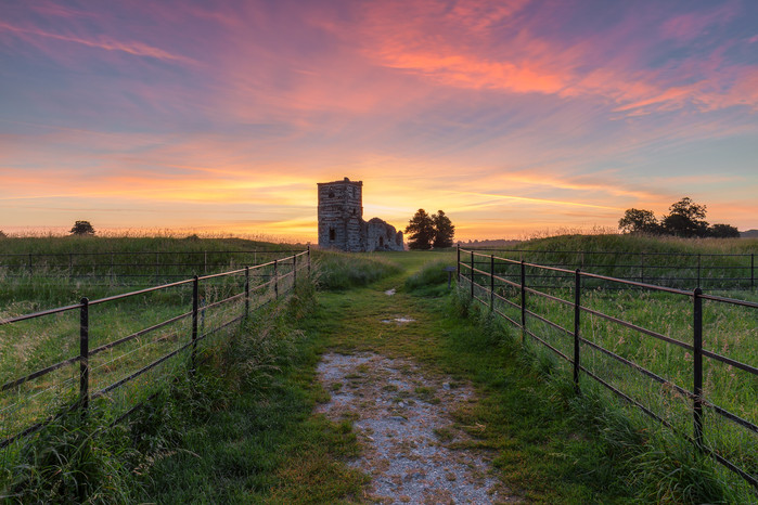Dawn Breaks Over Knowlton Church