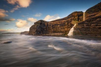 Clavells Hard Waterfall
