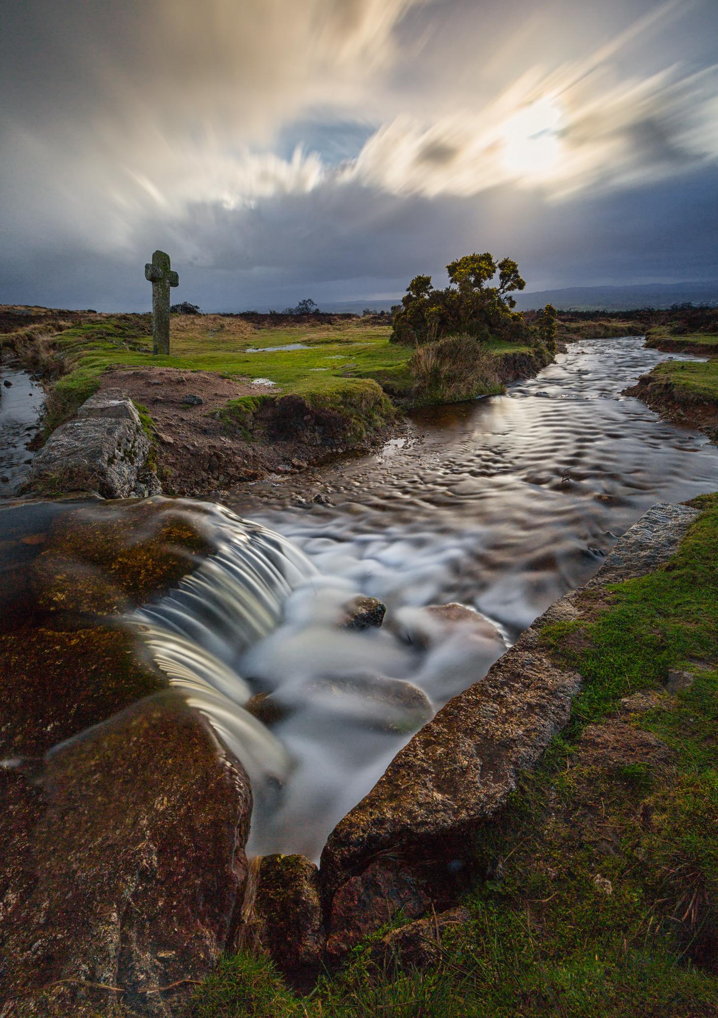 The Windy Cross Post - Dartmoor