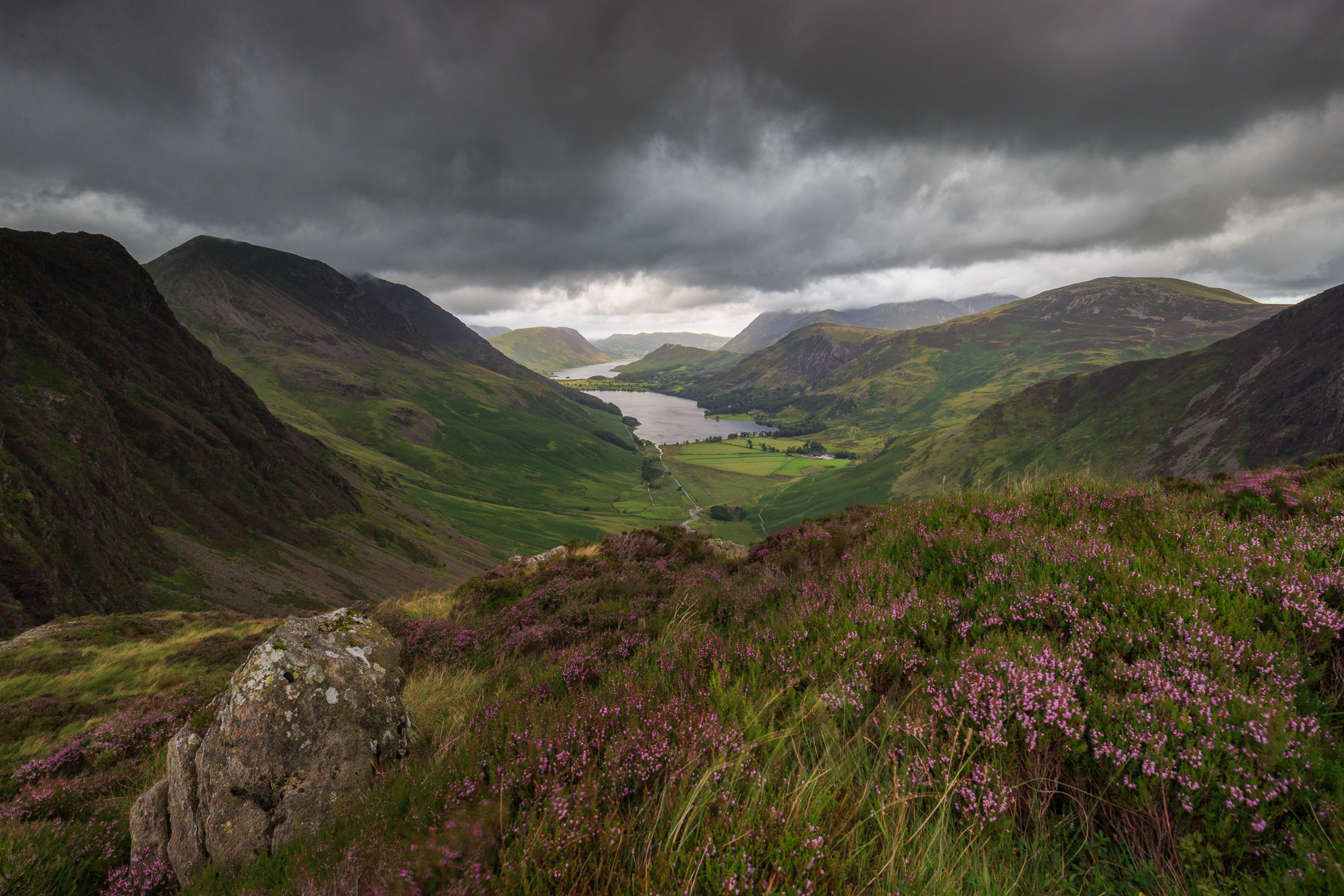 Buttermere From Up High