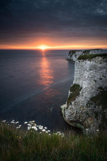 First Light At Old Harry