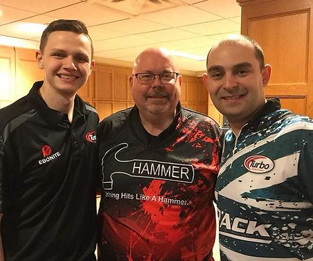 L-R: Andrew Anderson, Craig Hood, Dom Barett