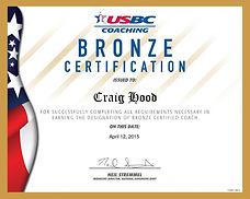 USBC Bronze Coaching Certification