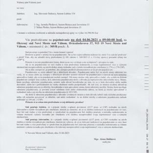 Predvolania 5C-16/2008