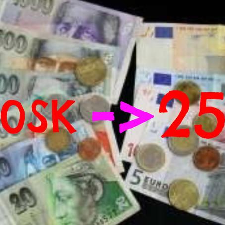 Pripomienky k návrhu a návrh na zmenu Cenníka poplatkov SLK