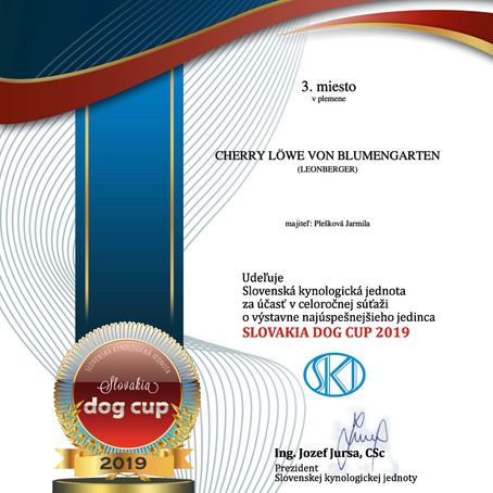 Slovakia Dog Cup 2019 - Leonberger
