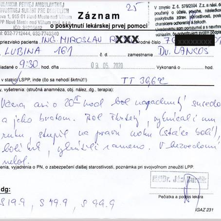 Spáchal zamestnanec Ministerstva Vnútra SR trestný čin počas mimoriadnej situácie na Slovensku?