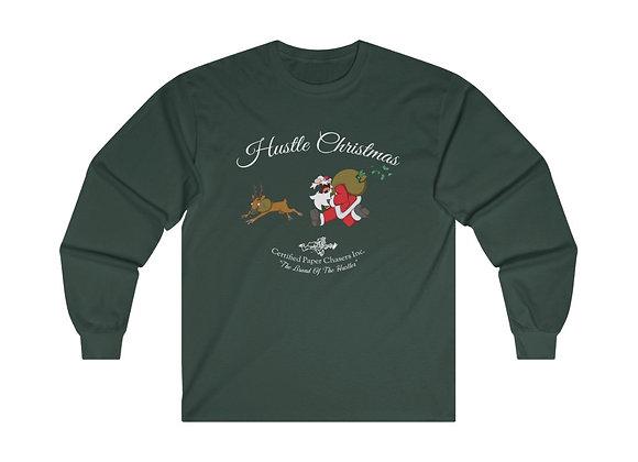 Hustle Christmas Long Sleeve Shirt