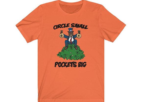 Circle Small, Pockets Big T-Shirt
