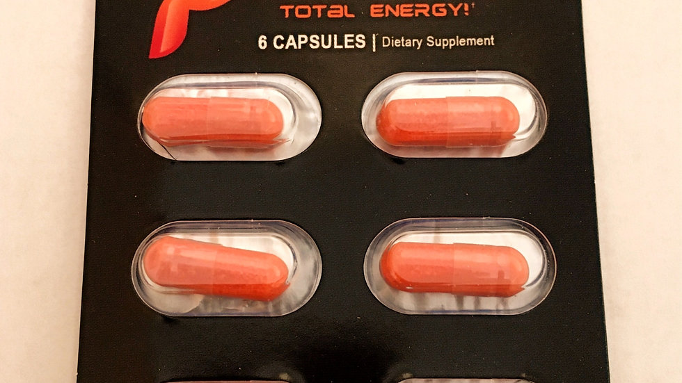 Parapitol Total Energy! Six Capsules Card