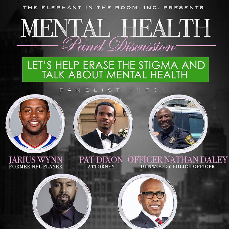 The Elephant in the Room, Inc.'s Mental Health Panel Discussion
