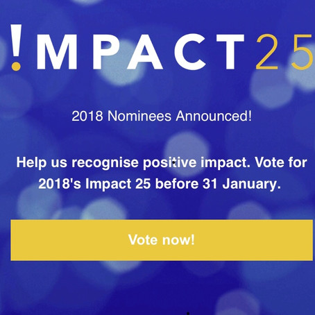Impact 25 award nomination for Carmen