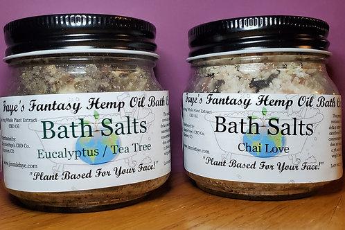 Faye's Fantasy Hemp Oil Herbal Bath Salts