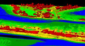 Aerial LiDAR for Shorebird nesting conservation project