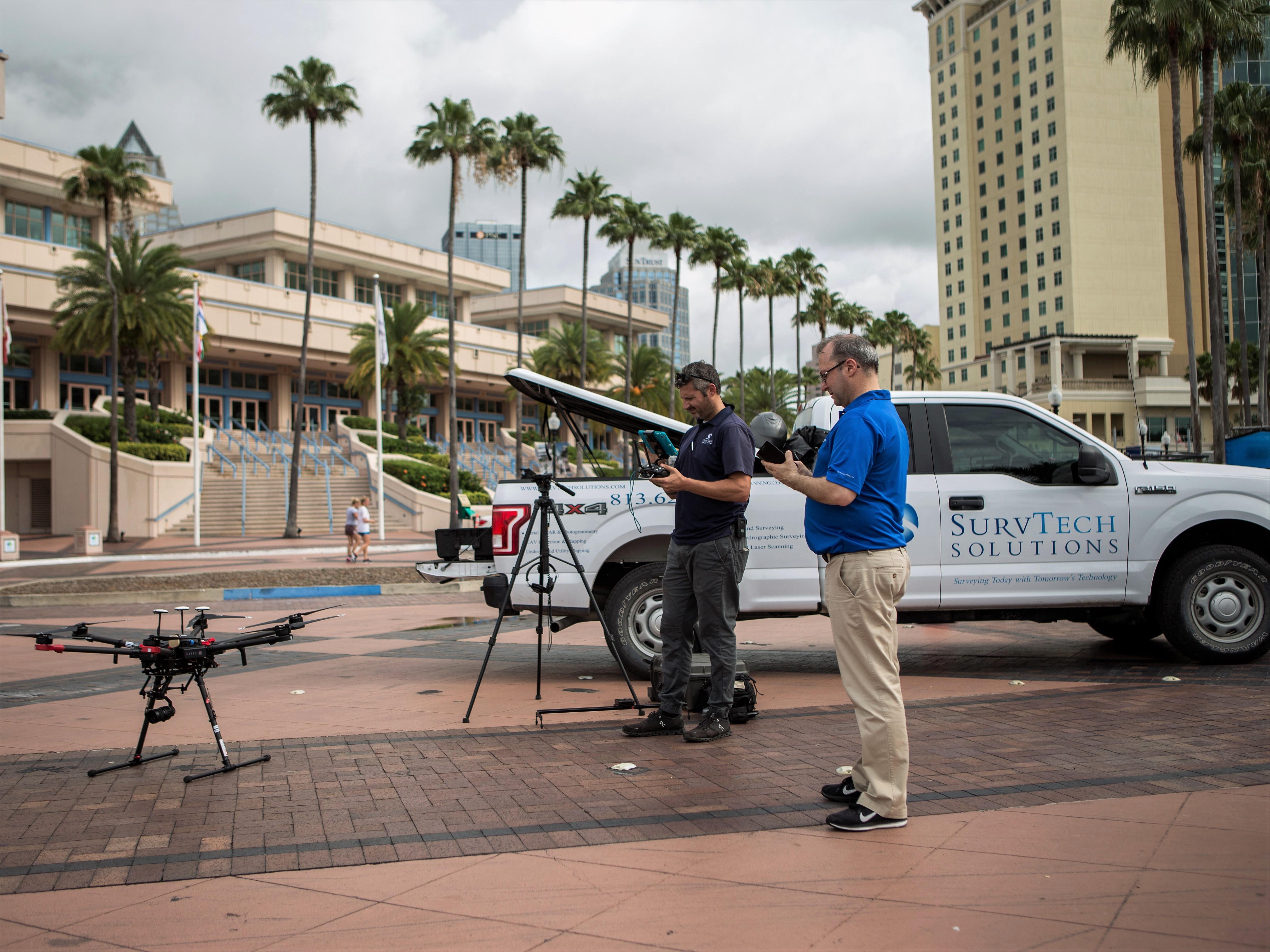 UAV Surveyors using Drones