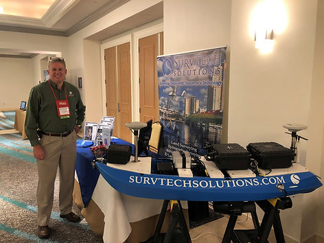 SurvTech at a Trade Show with USV