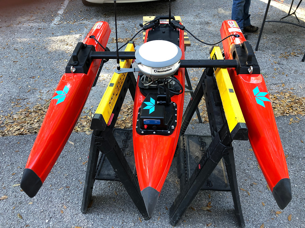 Unmanned Surveying Vessel