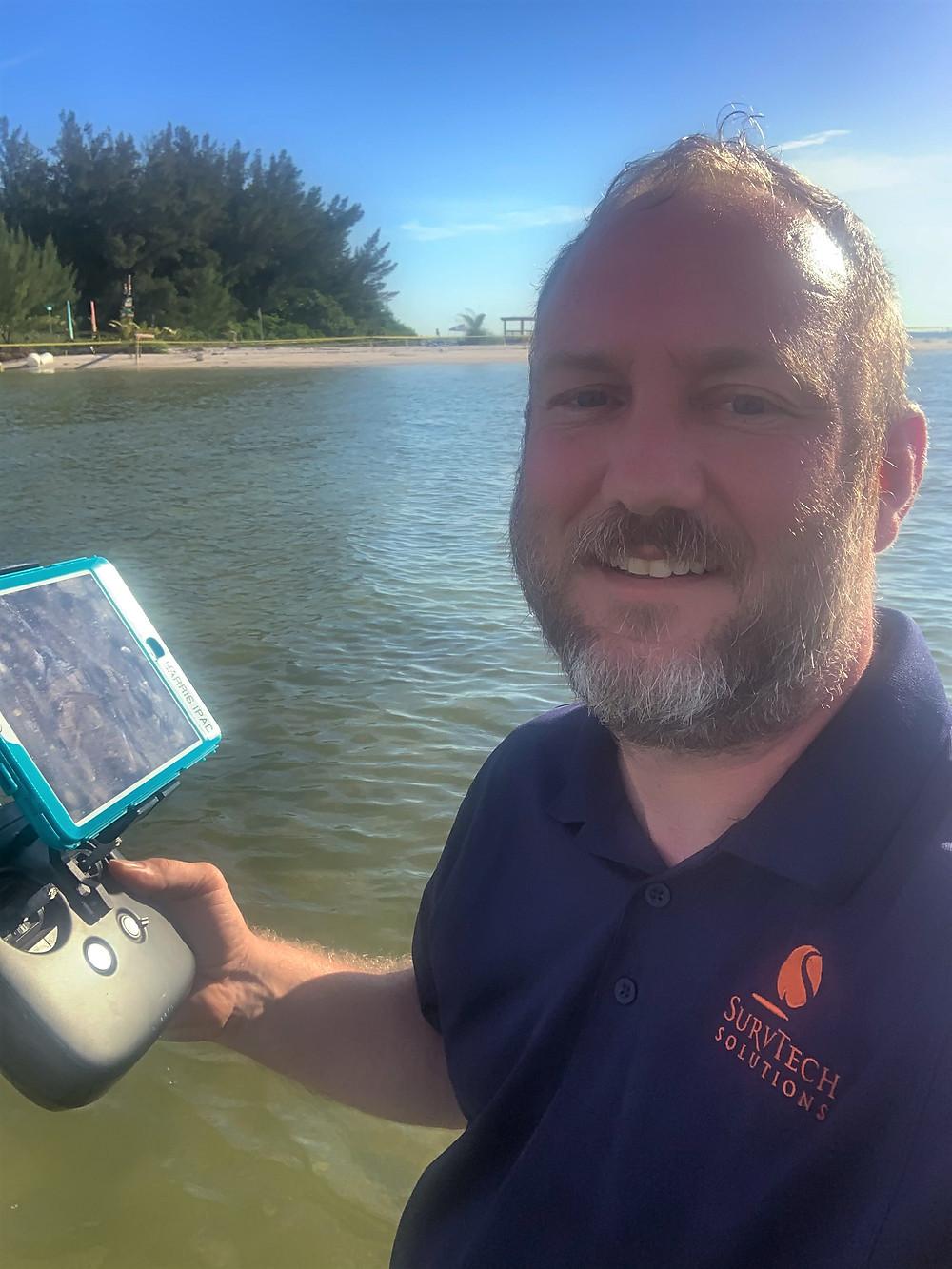 Mark Bickel UAV Department Head at SurvTech