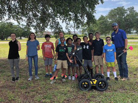 SurvTech shows SUE at SAME STEM Camp 2019