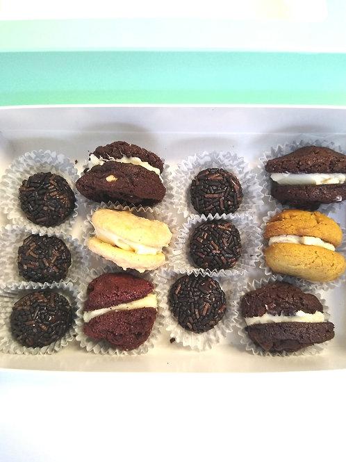 Brazilian Fudge Truffle & Cookie Box