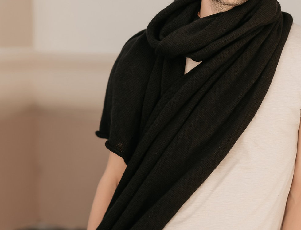 Cashmere Scarf Wrap for Men  -  Gift for Men