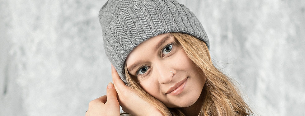 Cashmere slouchy beanie 7 COLORS Winter hat Slouch hat