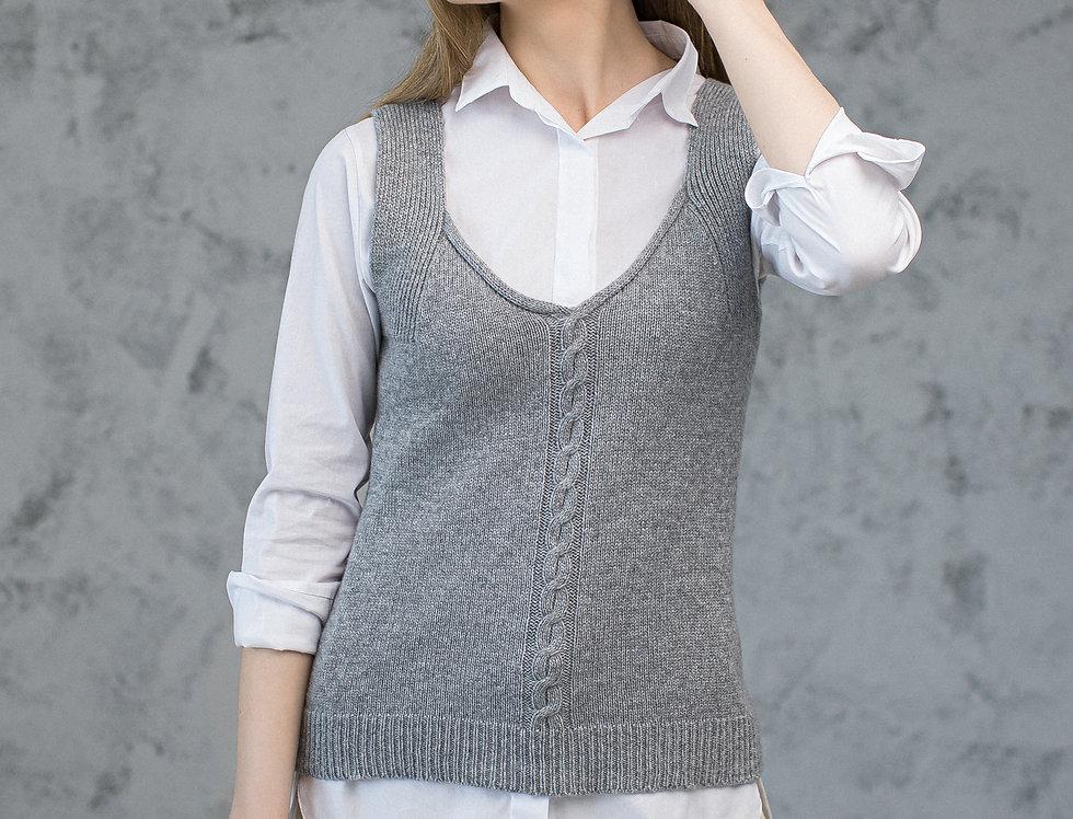 Pure Cashmere Sweater vest