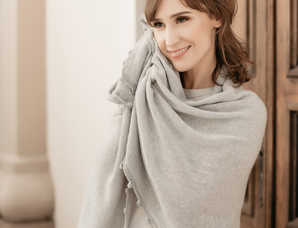 Oversize Cashmere Shawl Wrap in 6 Colors