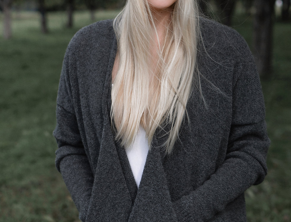 Cashmere Sweater Cardigan