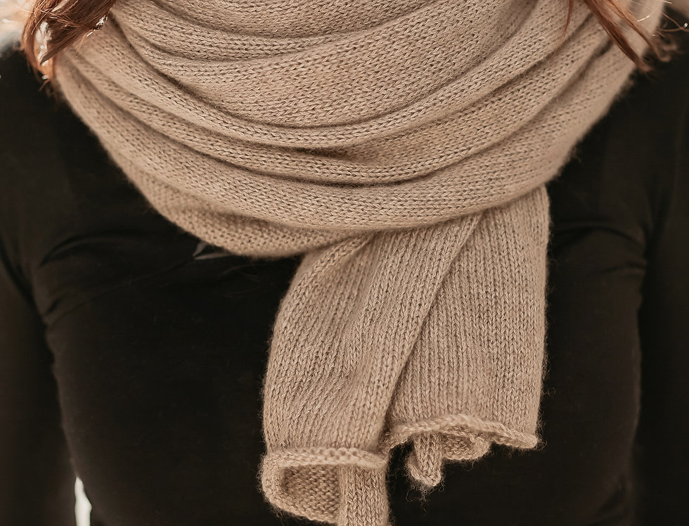 Oversize Cashmere Scarf for Women in 3 Colors