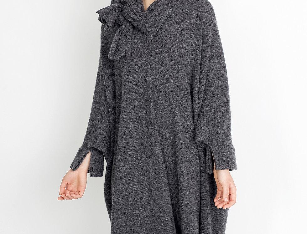 Cashmere Kimono Sweater Dress