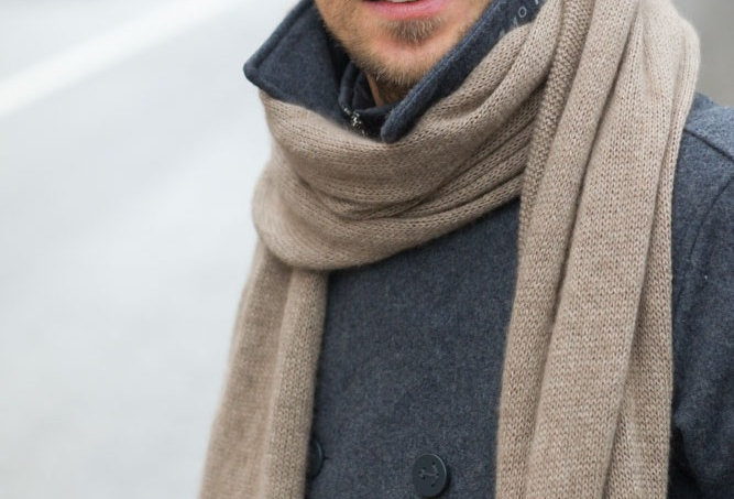 Cashmere Scarf Wrap for Men  -  Gift for Men
