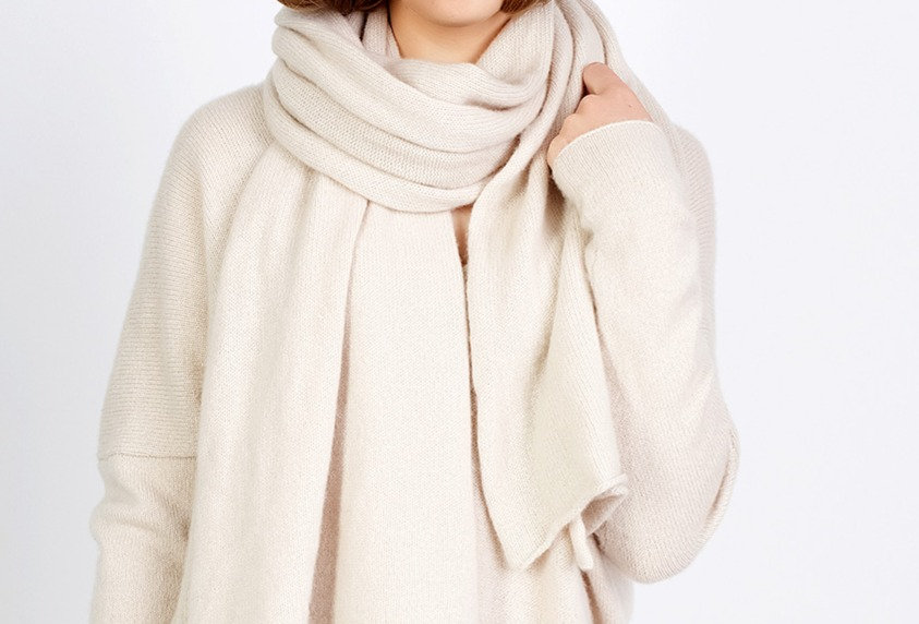 Oversize Cashmere Scarf for Women in 5 Colors