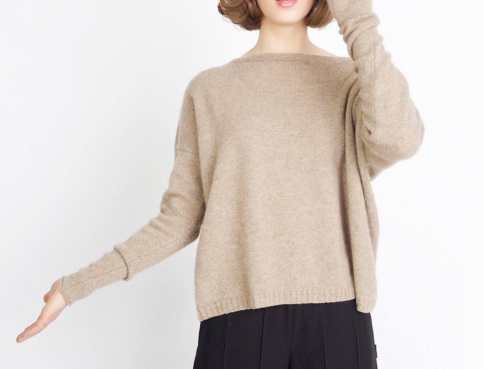 Loose knit Cashmere sweater
